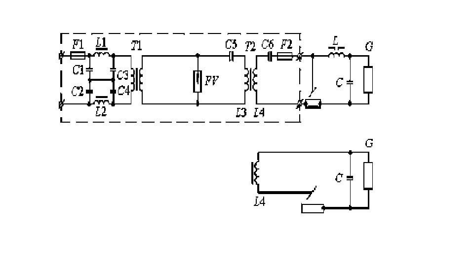 схема осцилляторов параллельного и последовательного включения